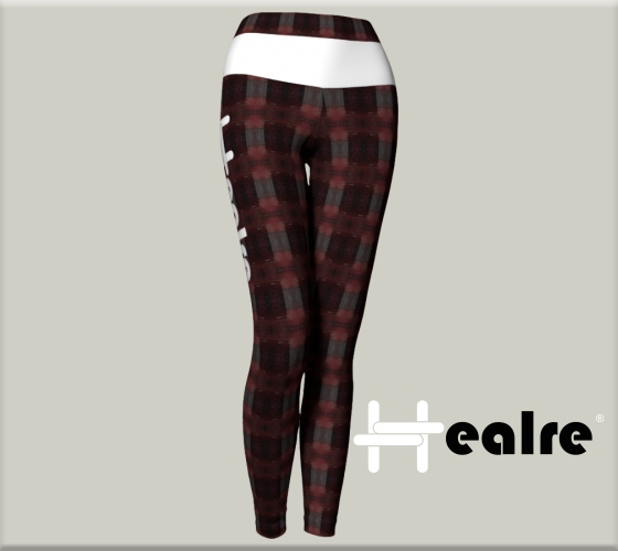 Graphic and textile design work for the Healre® leggings collection.