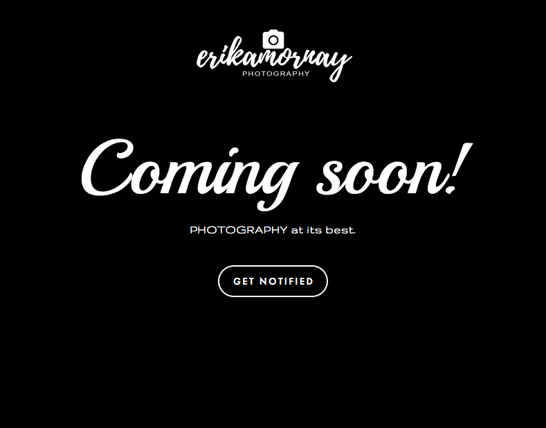 Branding - erikamornay PHOTOGRAPHY