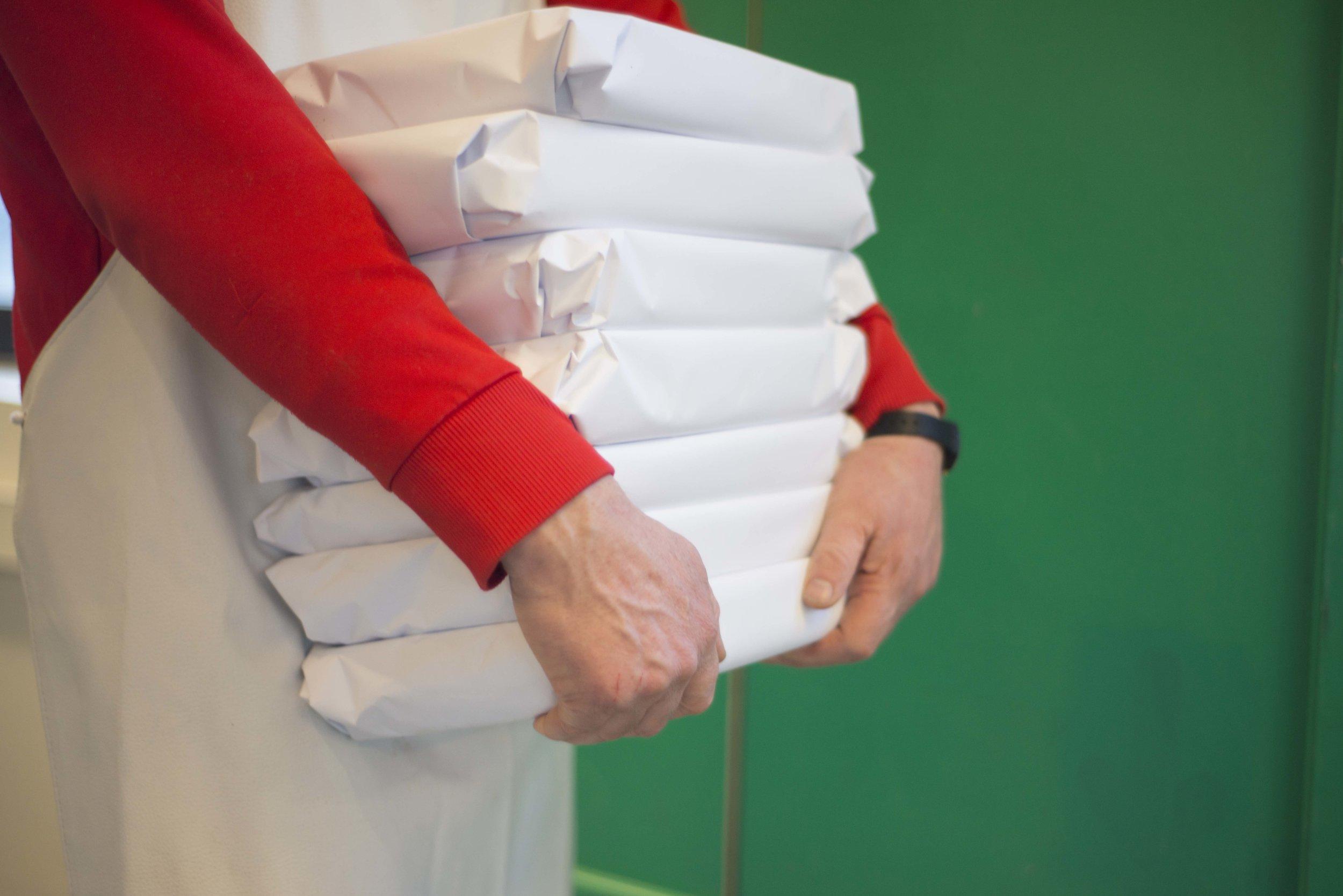 Pakking og Lagring -