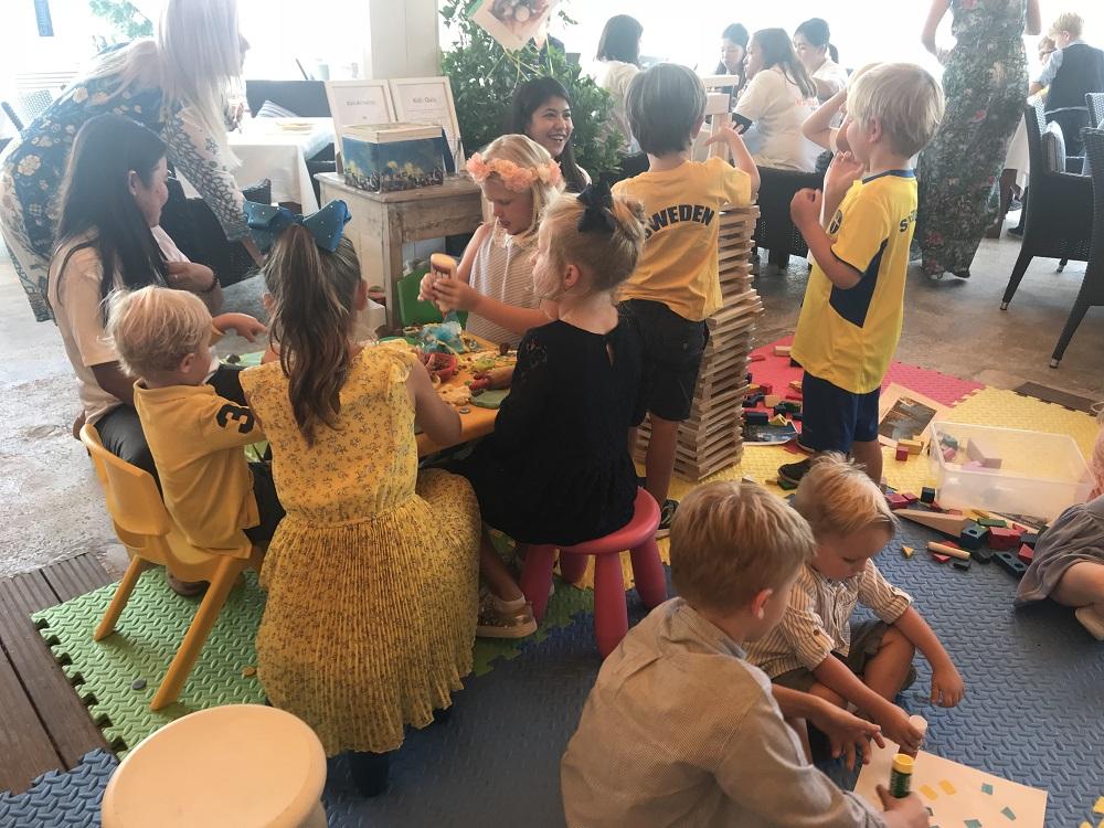 Kids corner by Art Village Nursery.