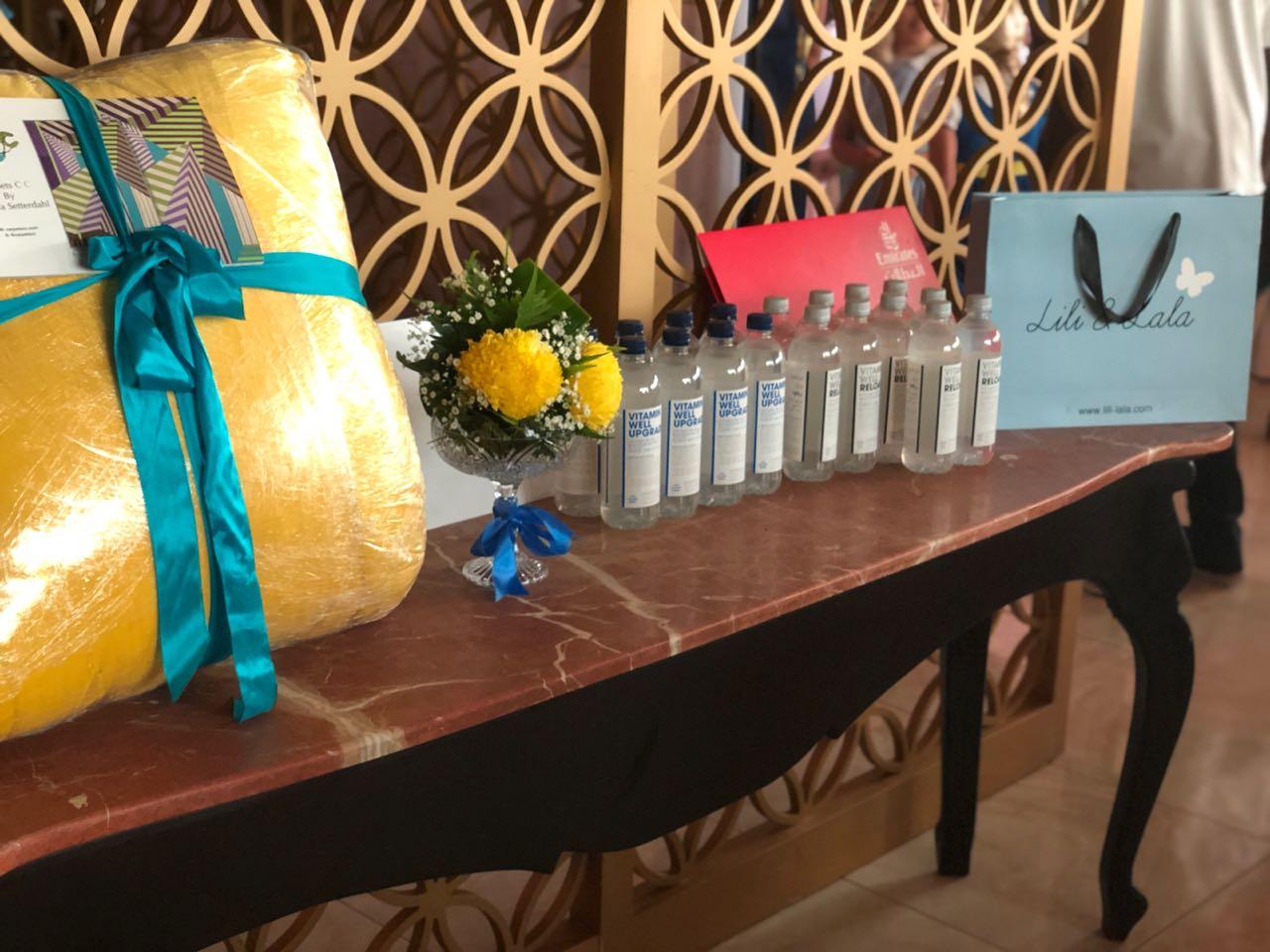 Prizes sponsored by Emirates, CarpetCC, Lili & Lala and IKEA