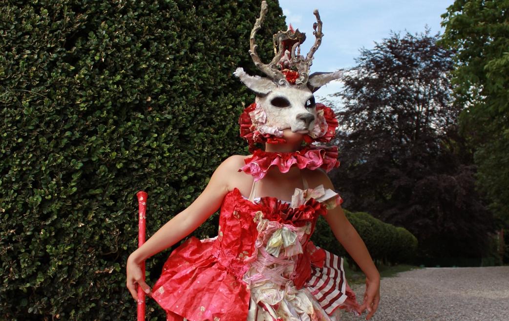 roe deer fairy tale mask