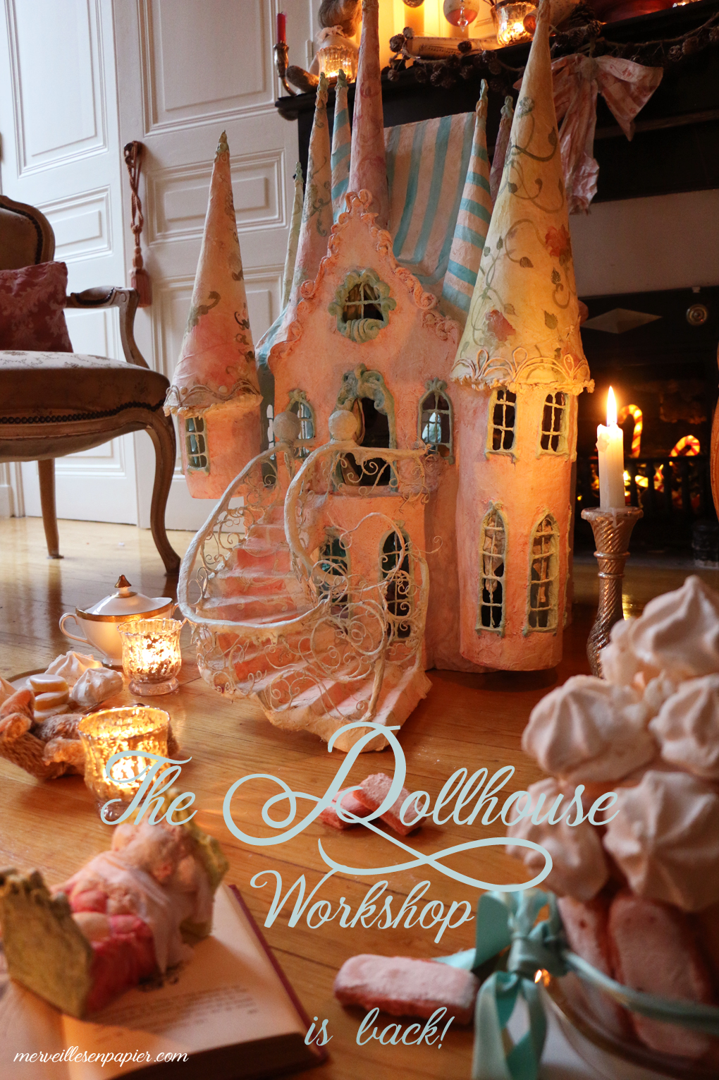 The dollhouse workshop is back today !