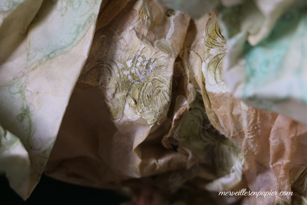 Painted Bloomer - Detail