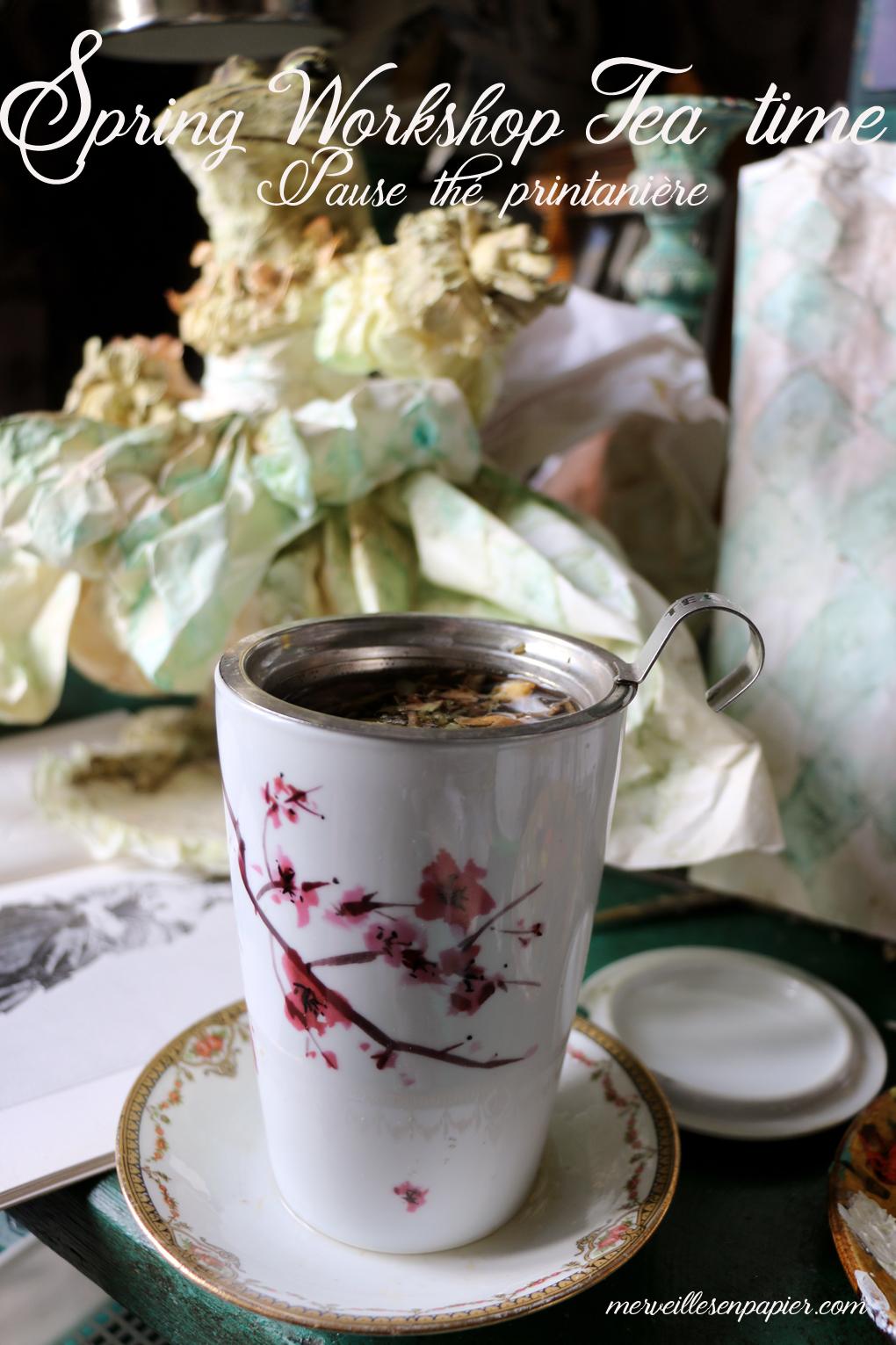 My Eigenart cherry tree tea mug