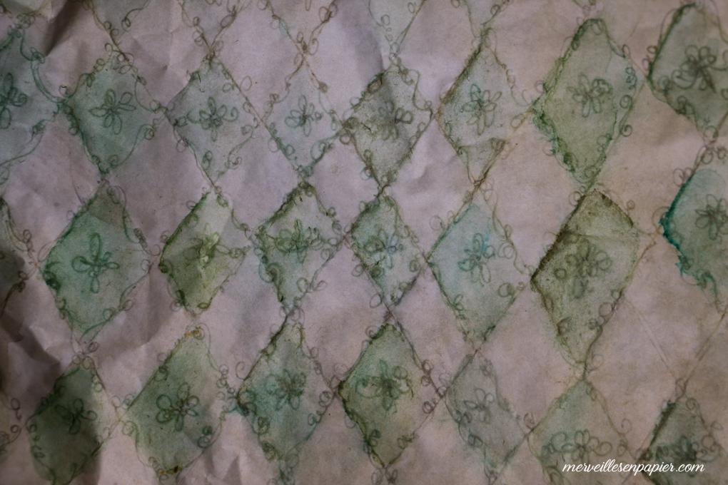 Green Diamond Paper