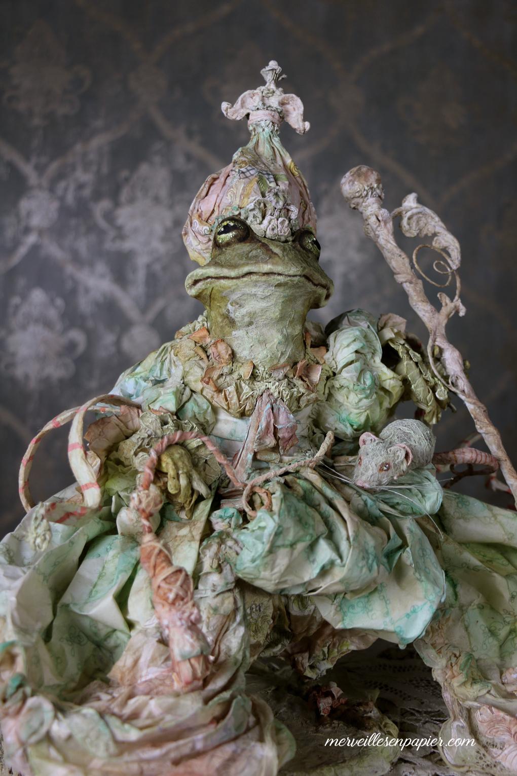 The benevolent Frog - Madame d'Aulnoy