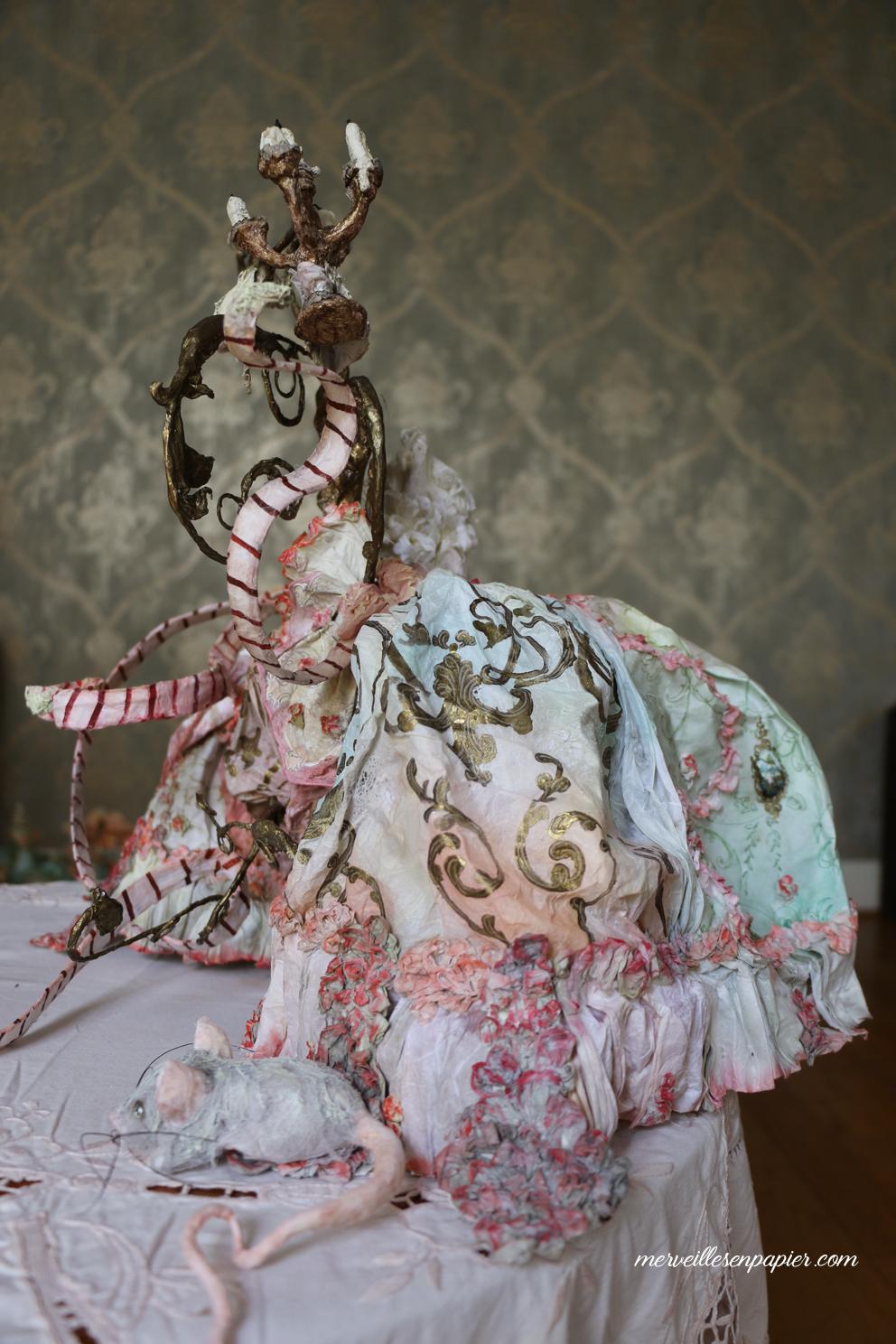 White cat's profile-Madame d'Aulnoy