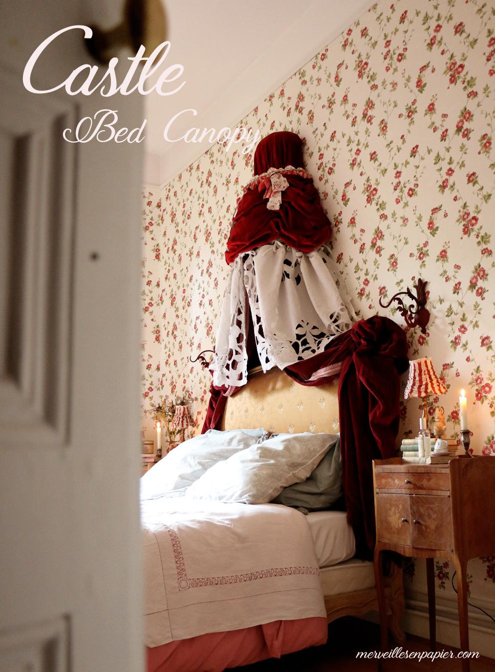 papier mache bed canopy