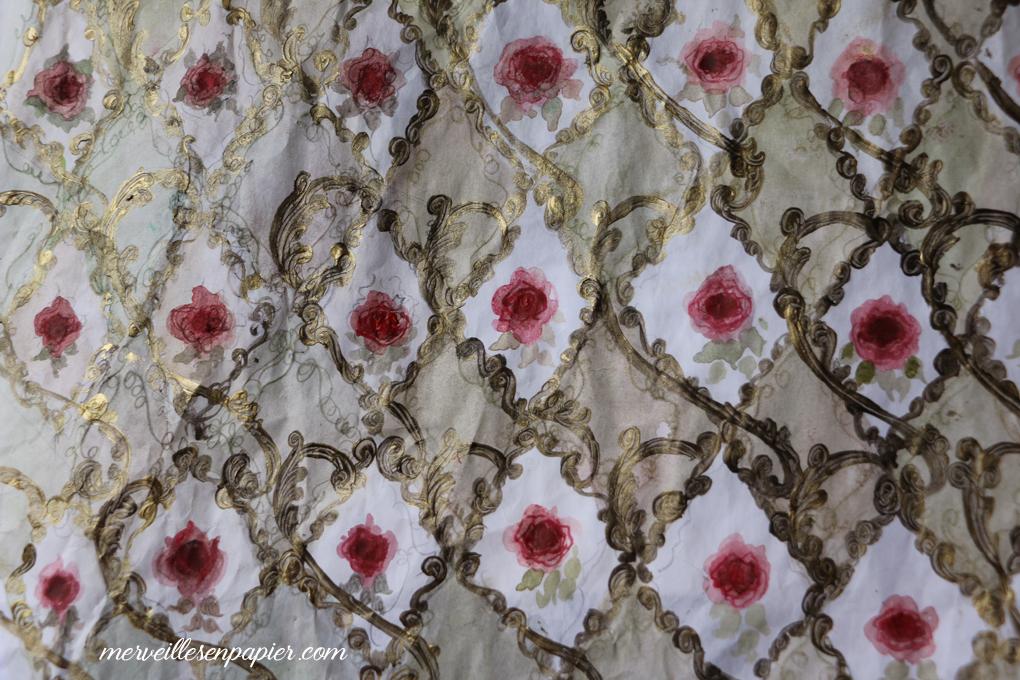 Baroque Floral Paper