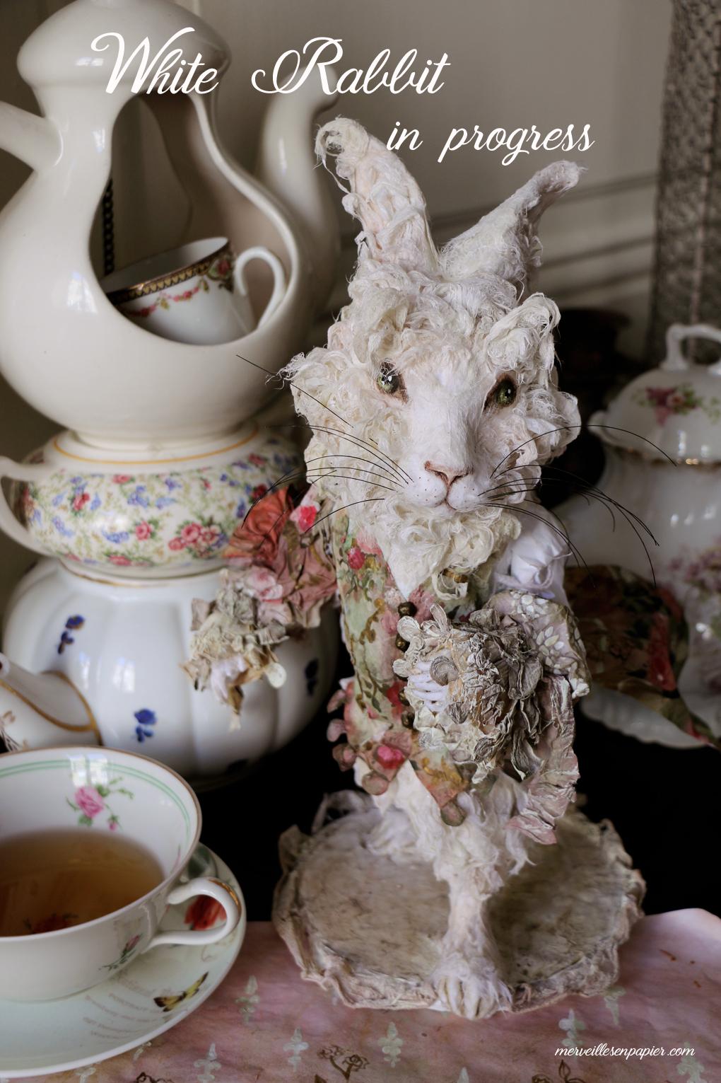 White Rabbit in progress
