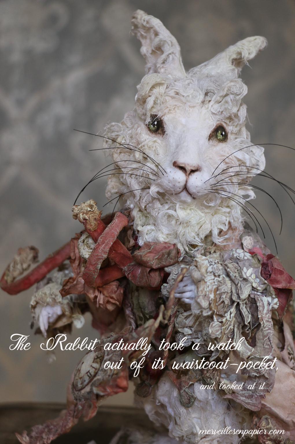 White Rabbit- Alice in Wonderland