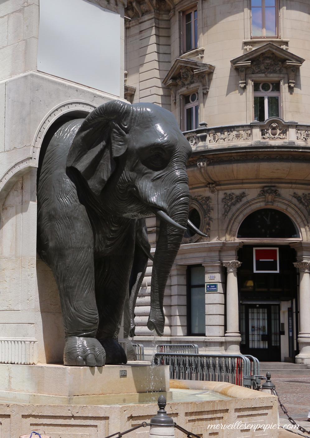 chambéry -fontaine des Elephants