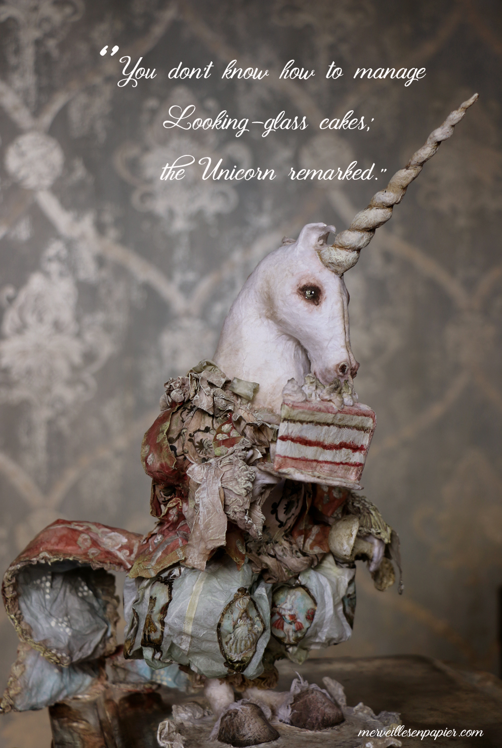 Unicorn's cake - Through The Looking Glass