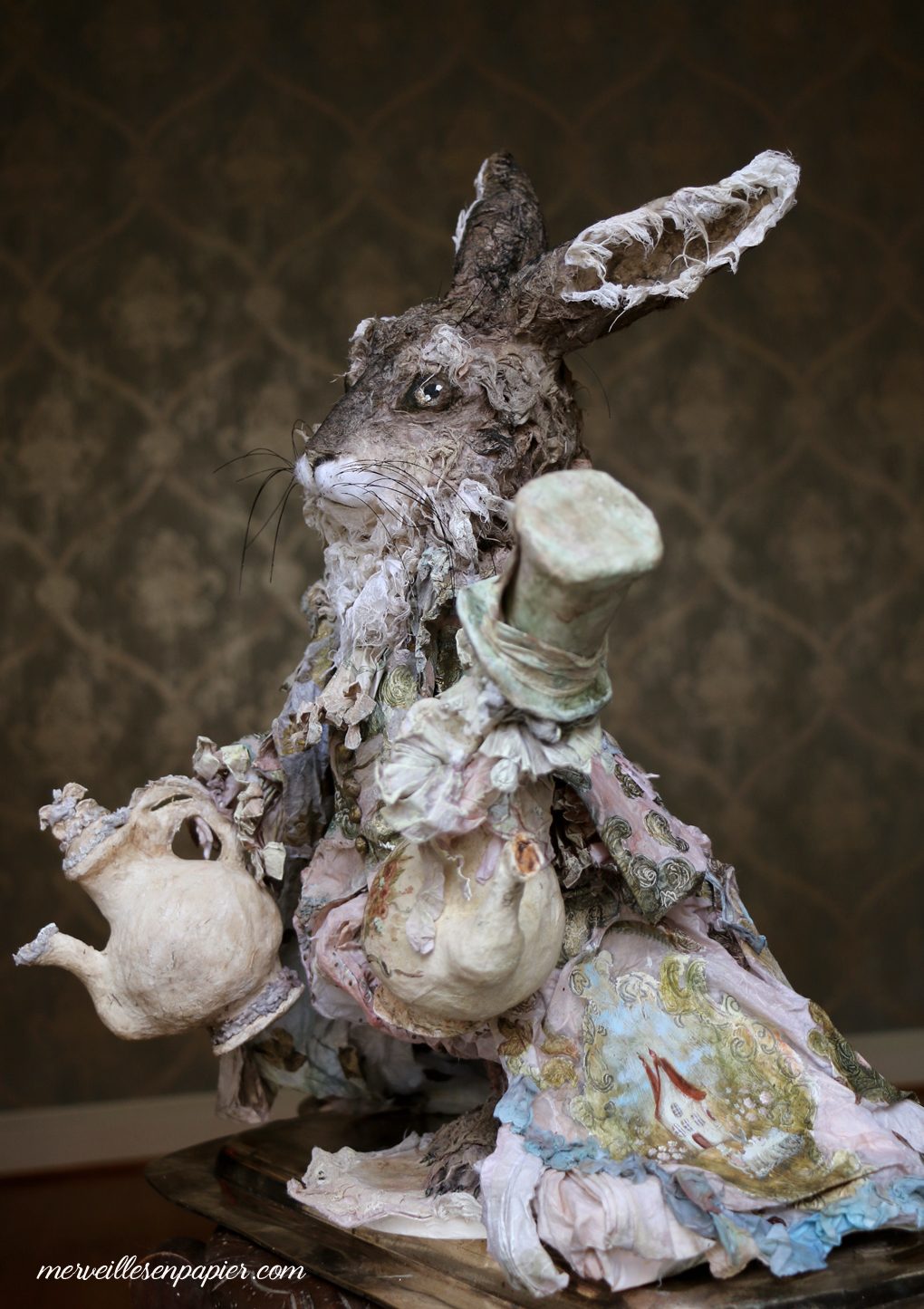 The March hare -Alice in Wonderland