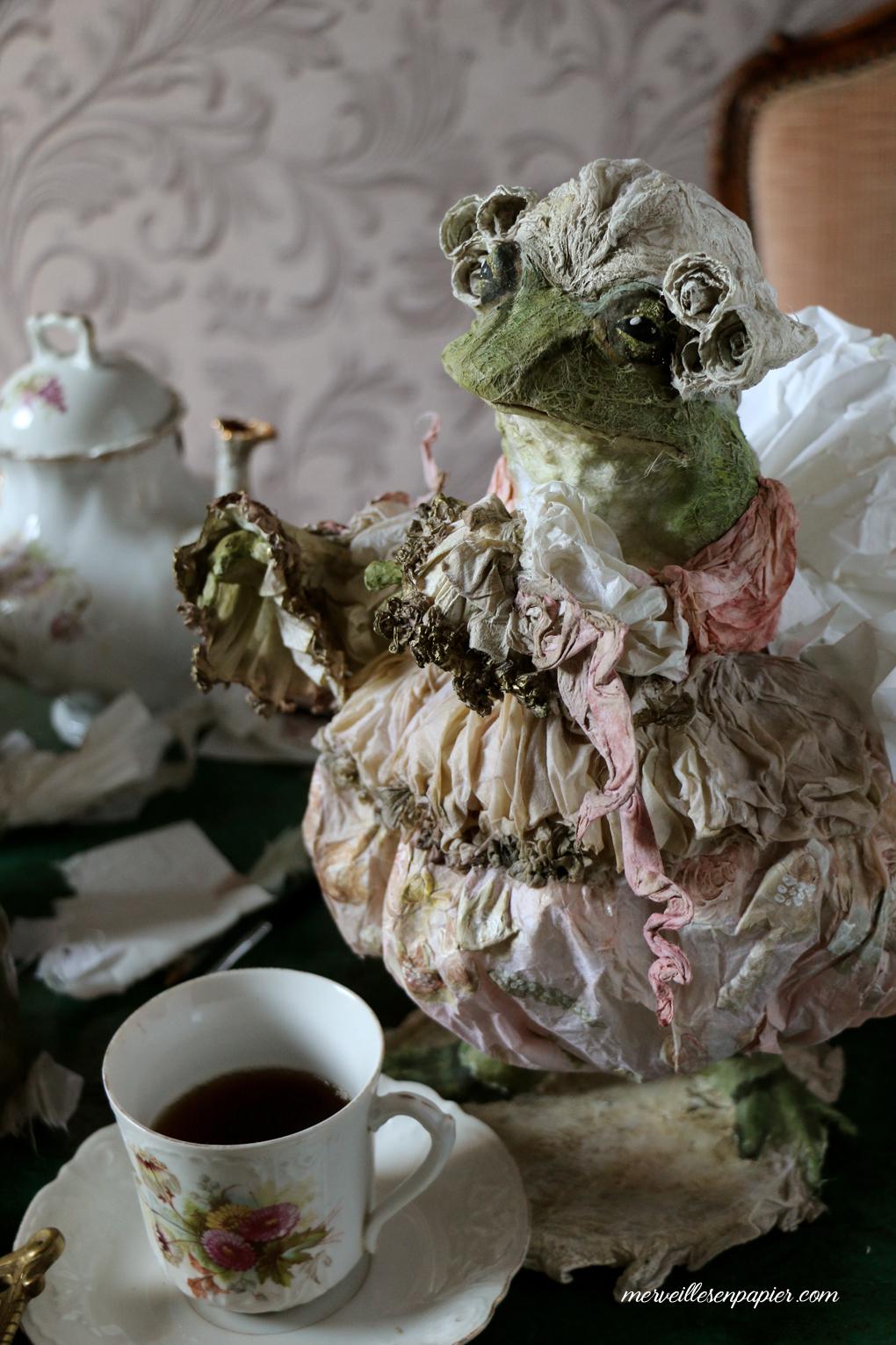 Frog footman- Alice in Wonderland