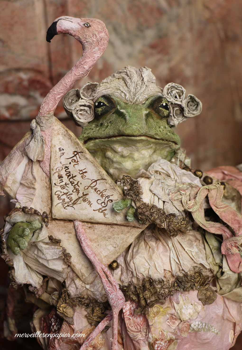 Frog footman- Alice in Wonderland