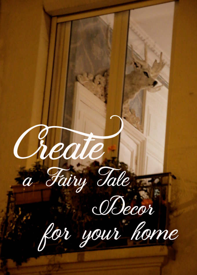 fairy tale home decor workshop