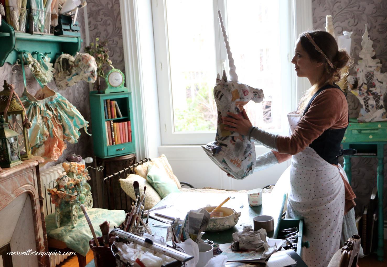 iSculpting the Unicorn- fairy tale decor workshop