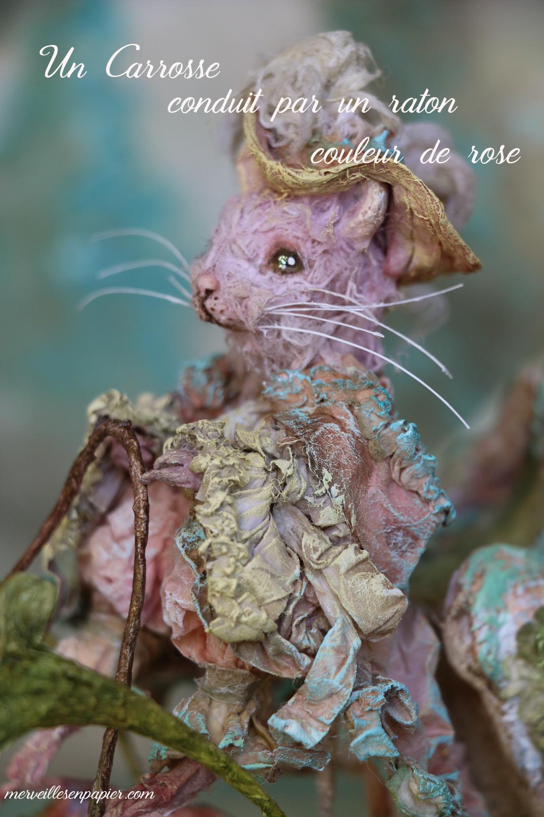 The pink rat driver - Blue Bird - Madame d'Aulnoy