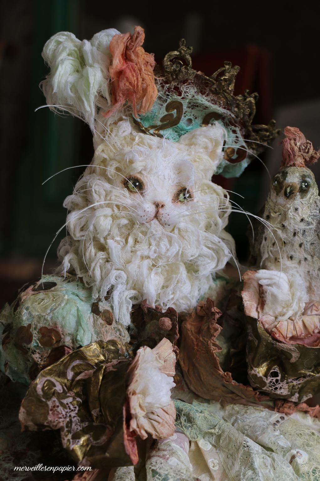 White cat hunter- in progress- Madame d'Aulnoy