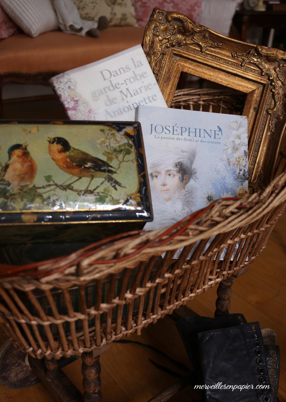 Joséphine la passion des fleurs et des Oiseaux