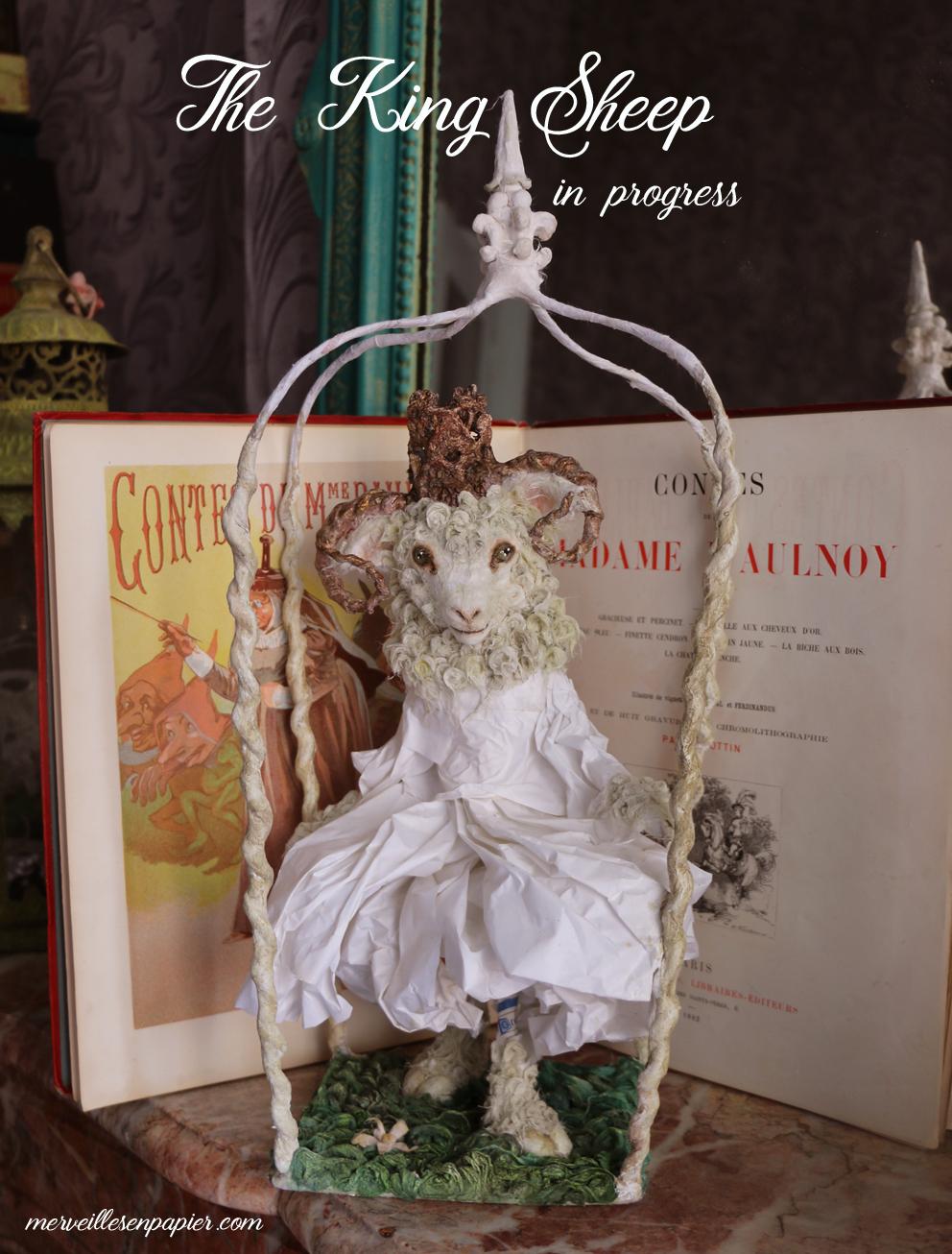 Le roi mouton, King Sheep in progress- Madame d'Aulnoy
