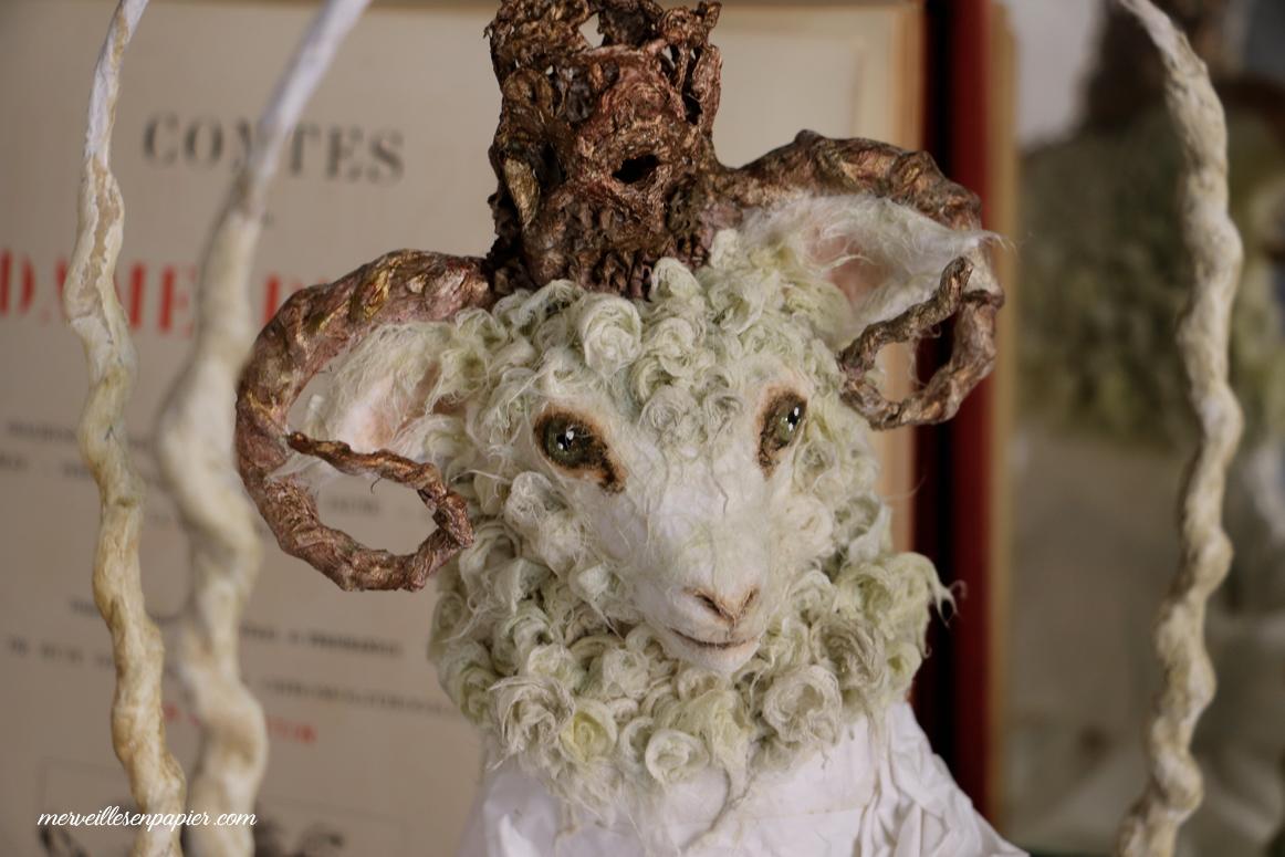 Le Mouton-( en cours)  Madame d'Aulnoy