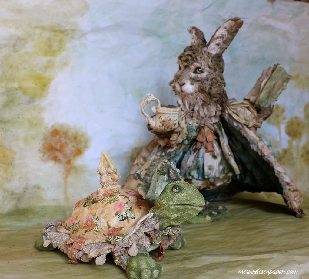 The Hare and the Tortoise- La Fontaine