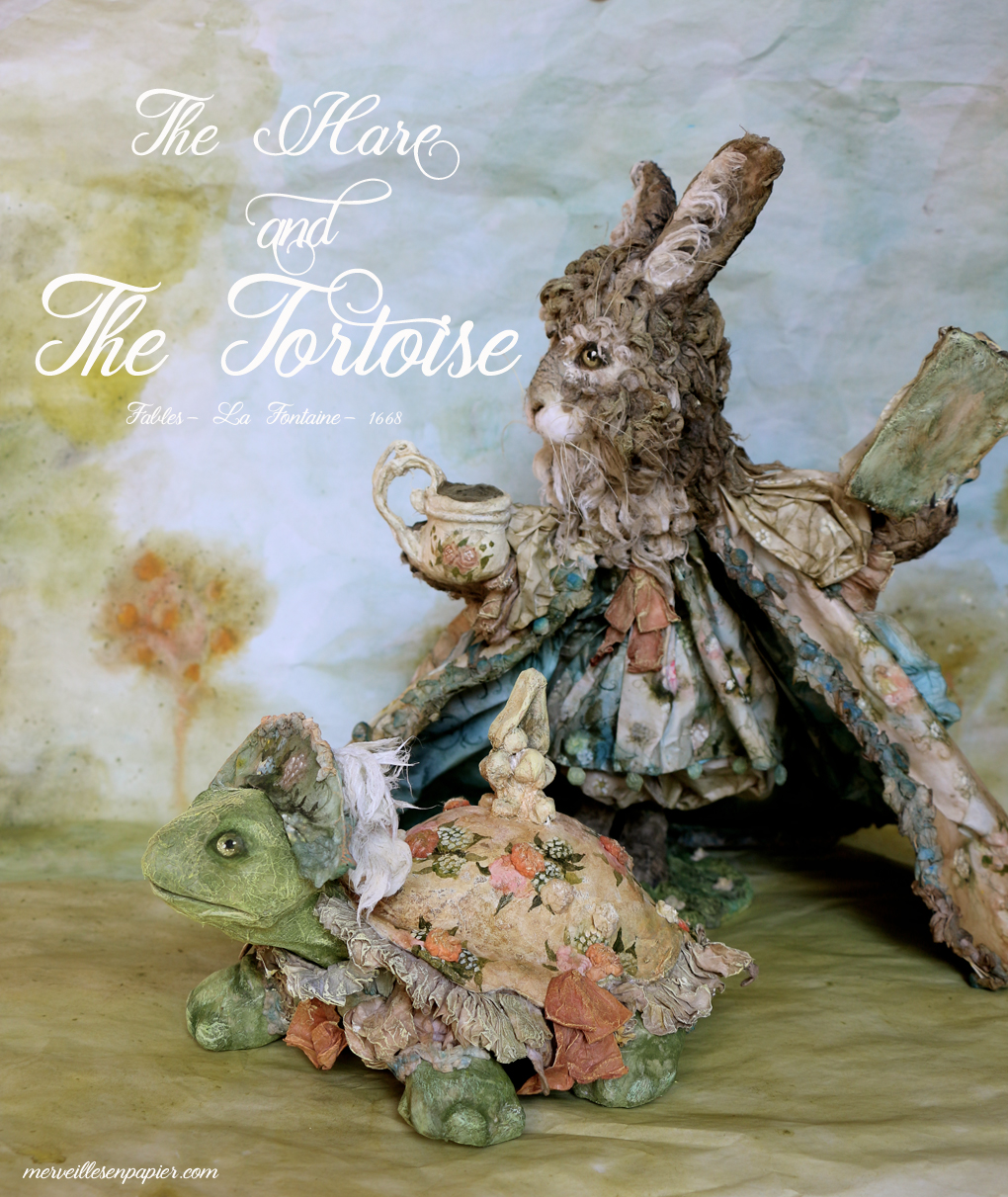 the hare  and the tortoise- Fables La Fontaine