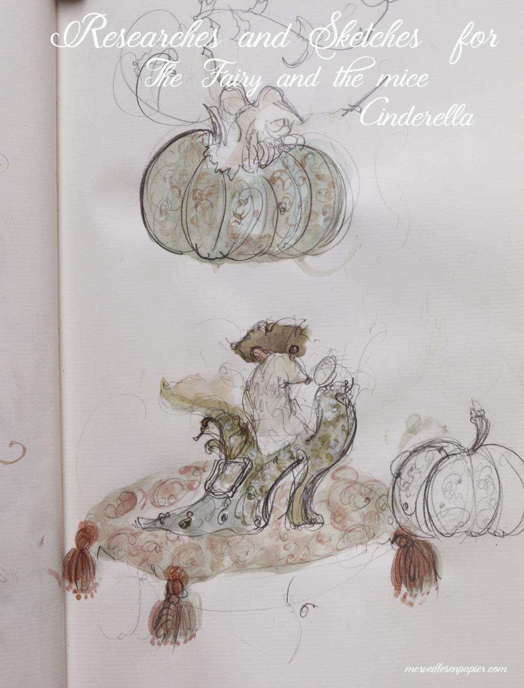 Sketch for Cinderella