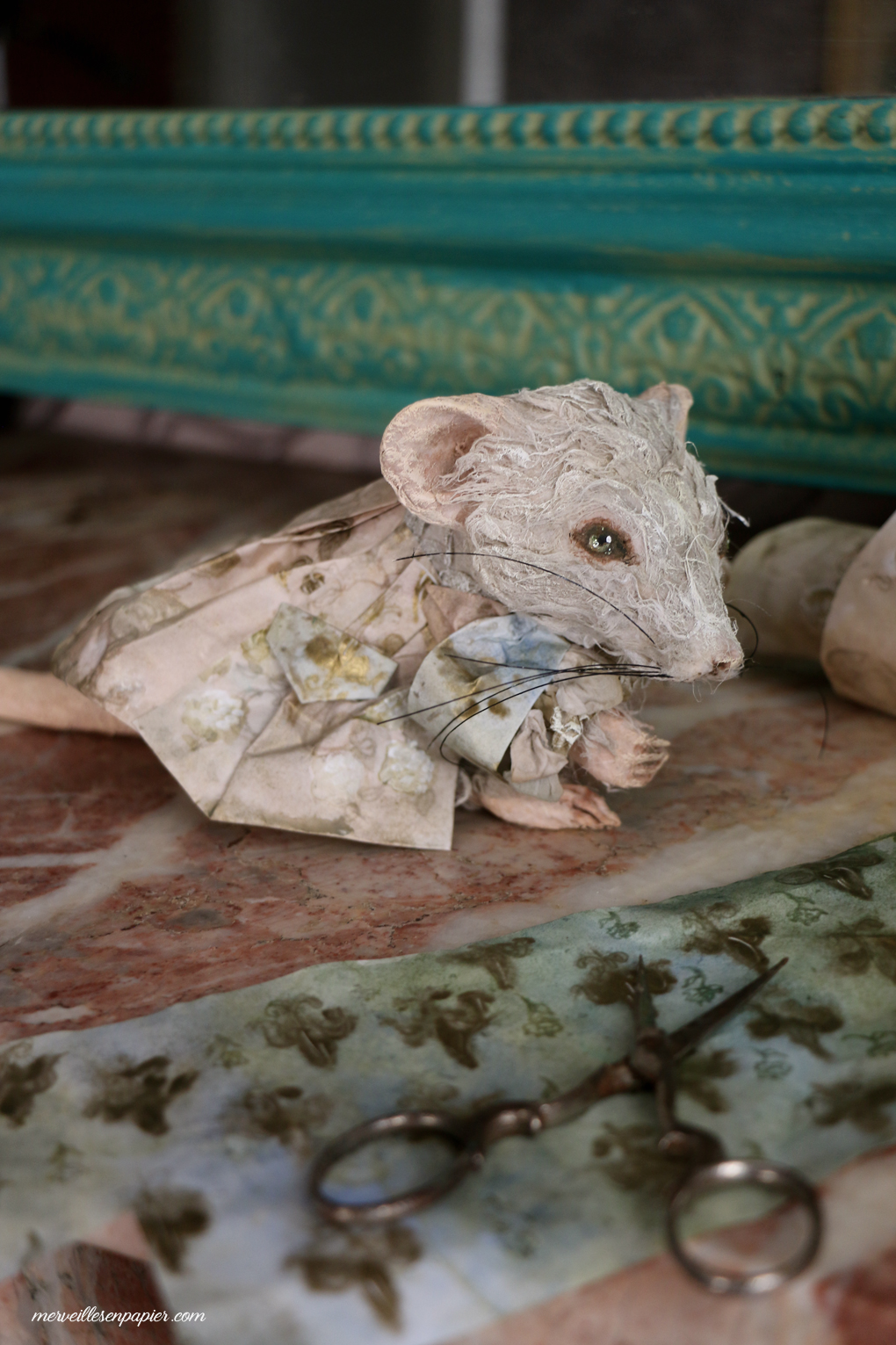 Cinderella's mouse in progress