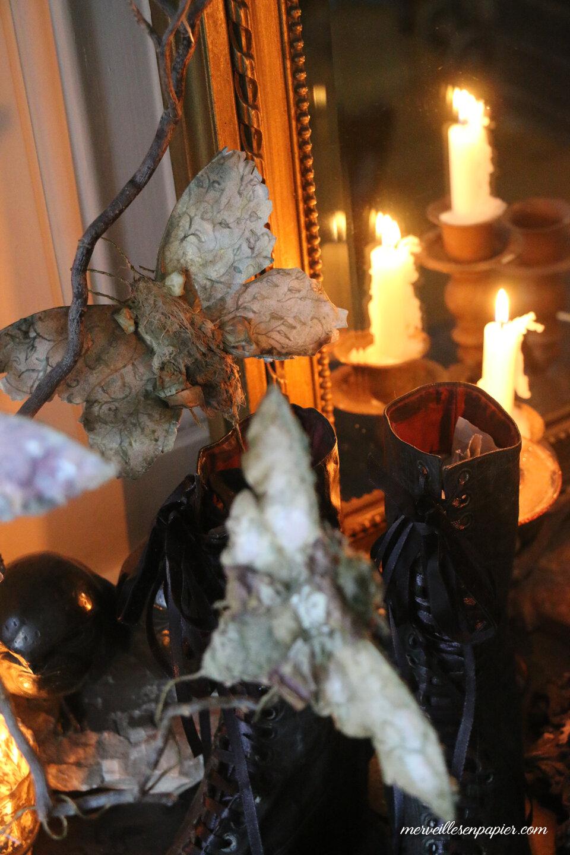 Paper Butterflies and moths - Halloween workshop