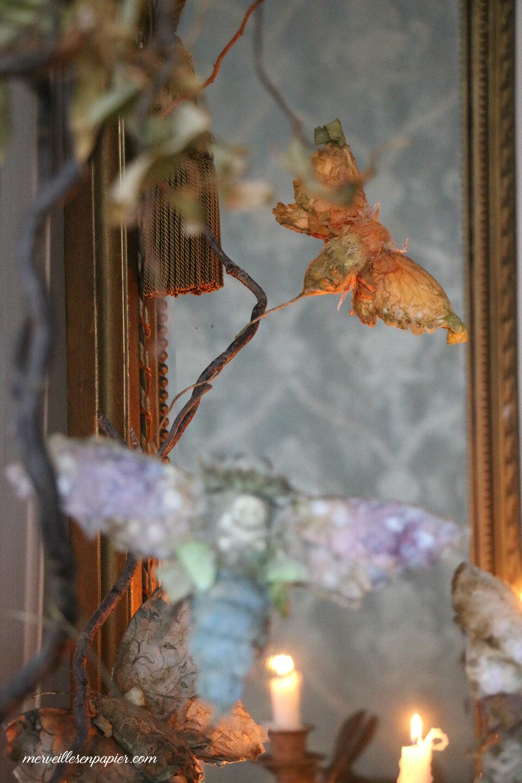 Paper Butterflies and moths- Halloween Workshop
