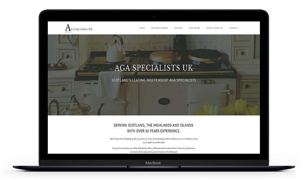 Squarespace Website Design - AGASpecialists-UK