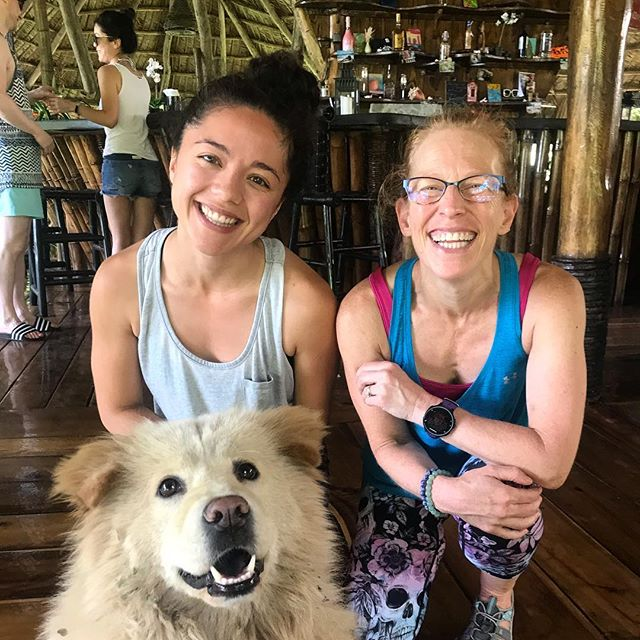 Shout out to this BADASS, Julie R currently doing her Yoga Teacher and Leadership Training in the JUNGLE of #DomRep! • Talk about getting outside of your comfort zone! 💥 YTT is not just learning poses. We ask trainees to focus on developing themselves through the effectiveness of #BaptisteYoga methodology, collaborative leadership skills, and self-inquiry or a hard look at the self of what's not working and where we're holding back from connecting to self and others! • Teaching yoga is an ACCESS to community and empowerment. The more we're willing to see what IS instead of a story about what is, then we can open up to greater LOVE and LIFE!