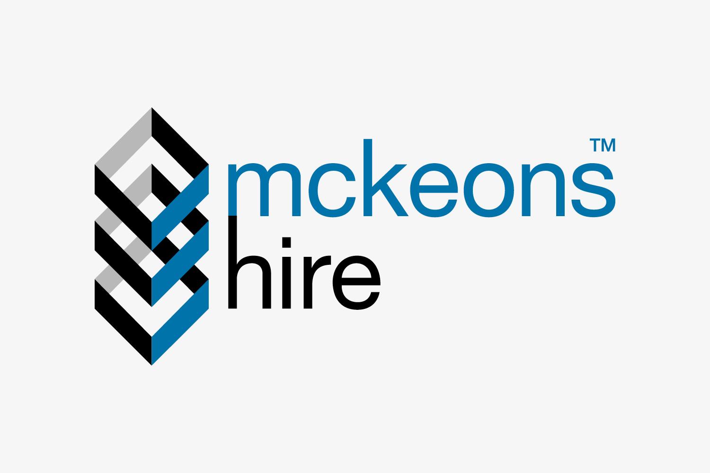 McKeons Hire industrial building equipment hire.