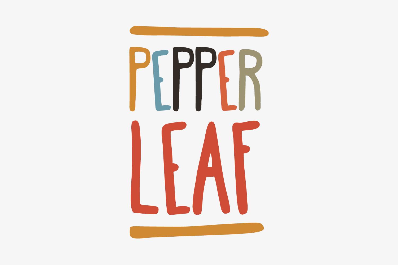 Pepper Leaf food delivery service.