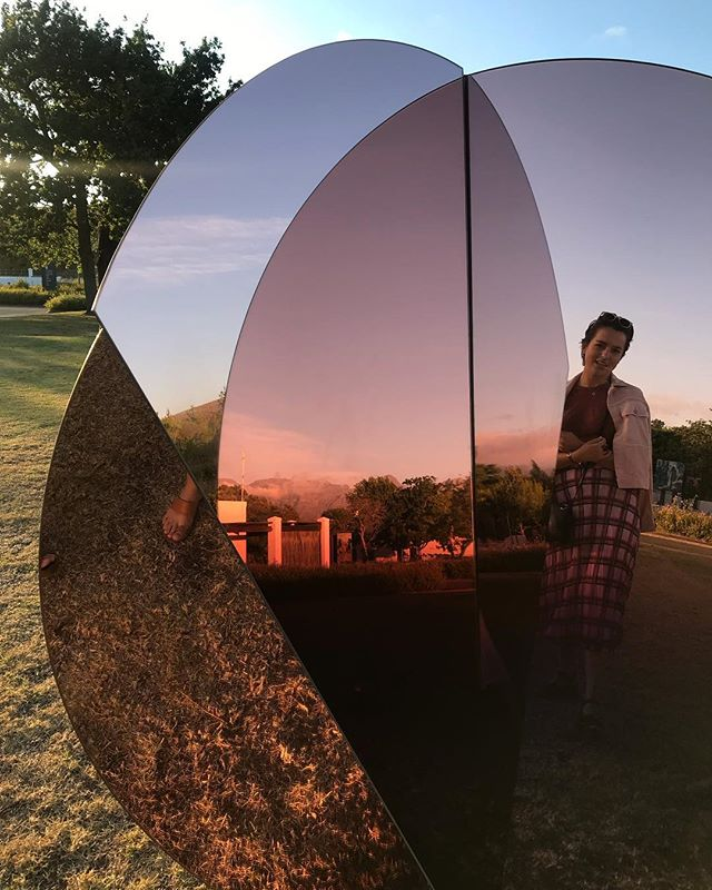 ✨ Folded Skies Installation up at Spier Wine Estate until the 31st January ✨