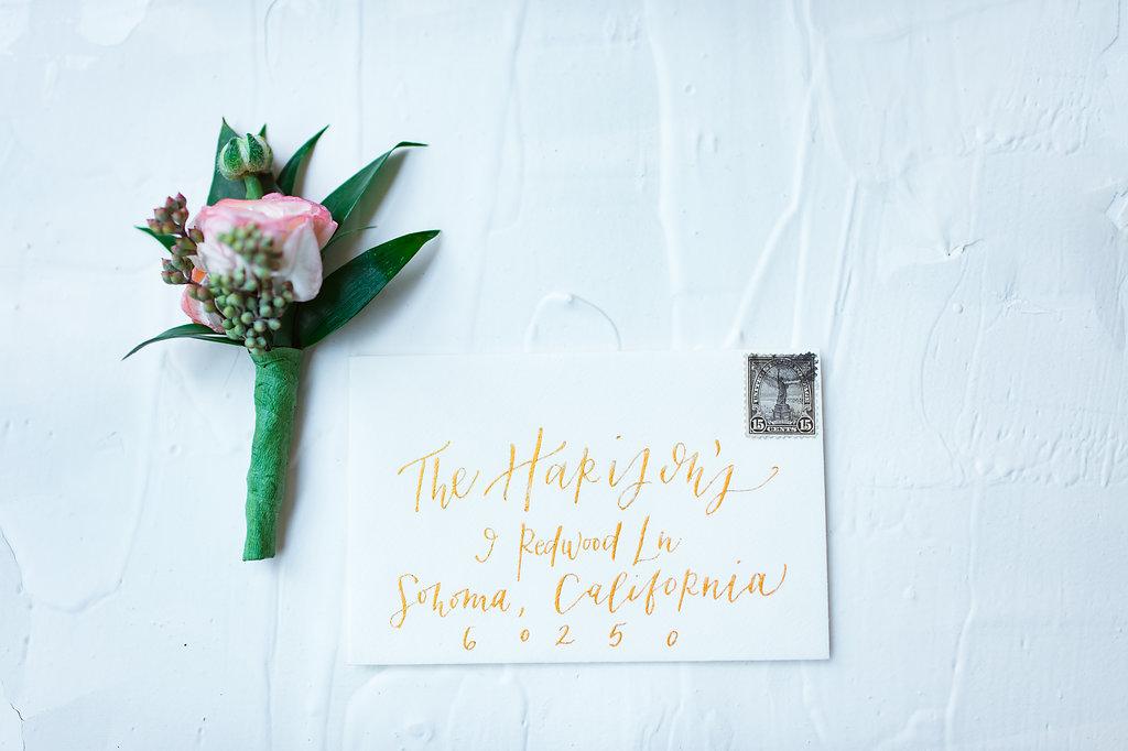 wedding boutonniere inspiration