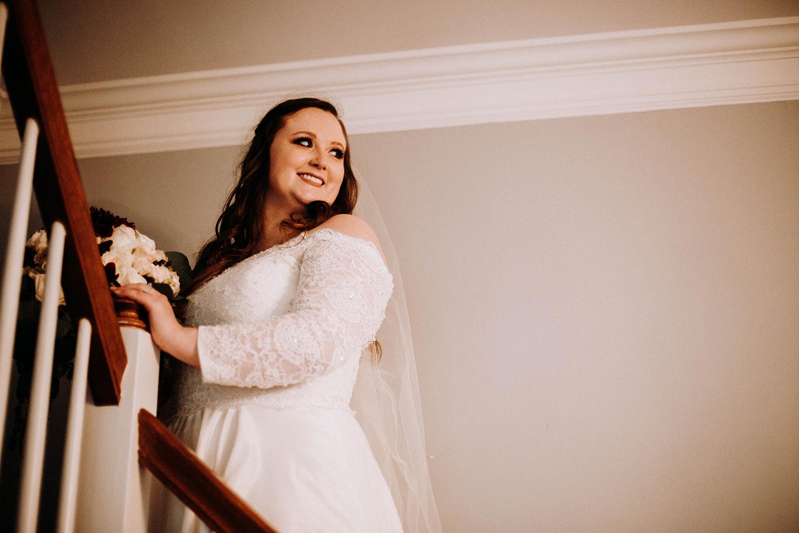 Bride on stairs.jpg