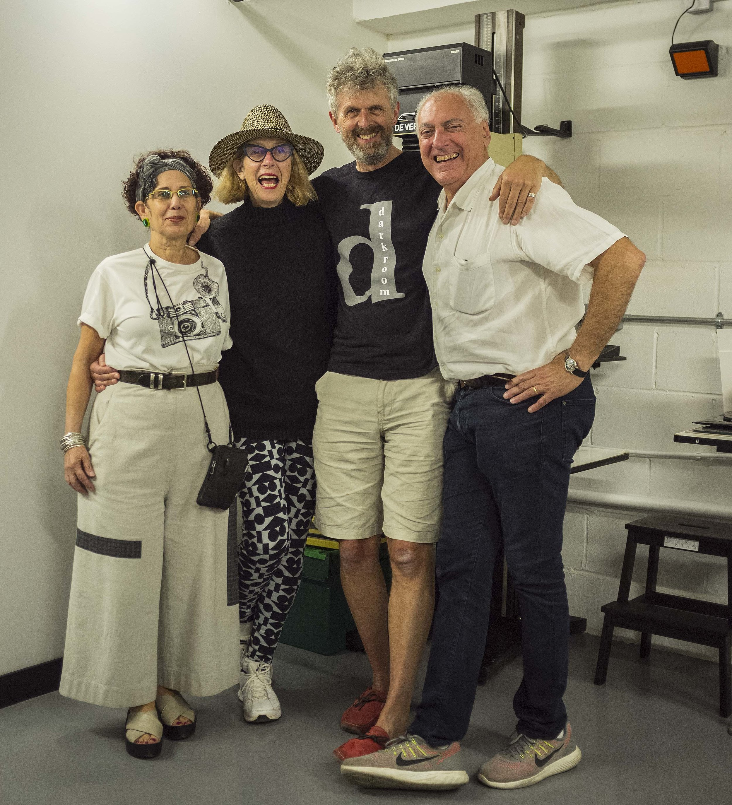 Brett Rogers (second left), with  darkroom  founders Verdi Yahooda, Philip Grey & Dennis Yandoli