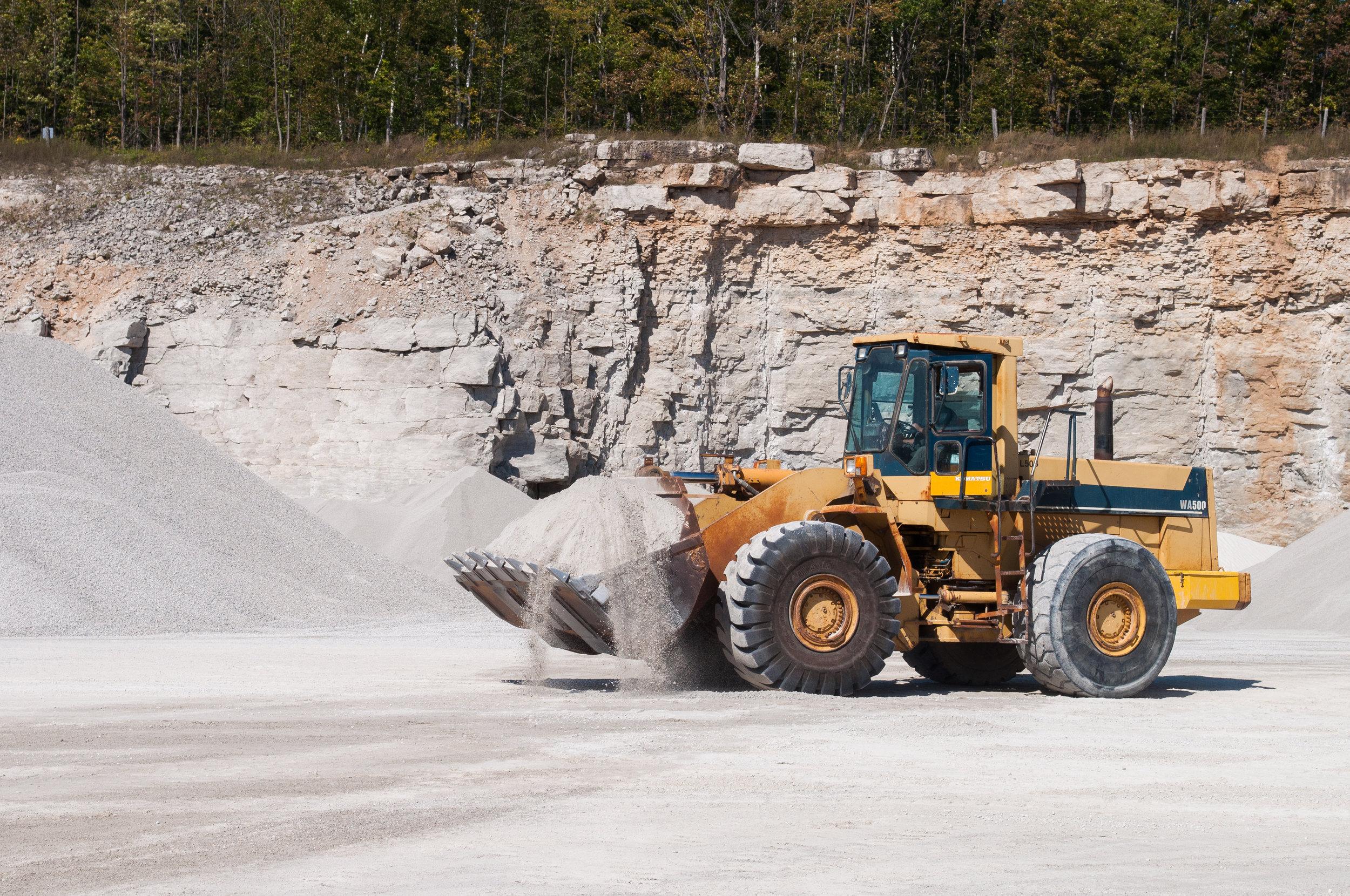 How do we choose a quarry location? -
