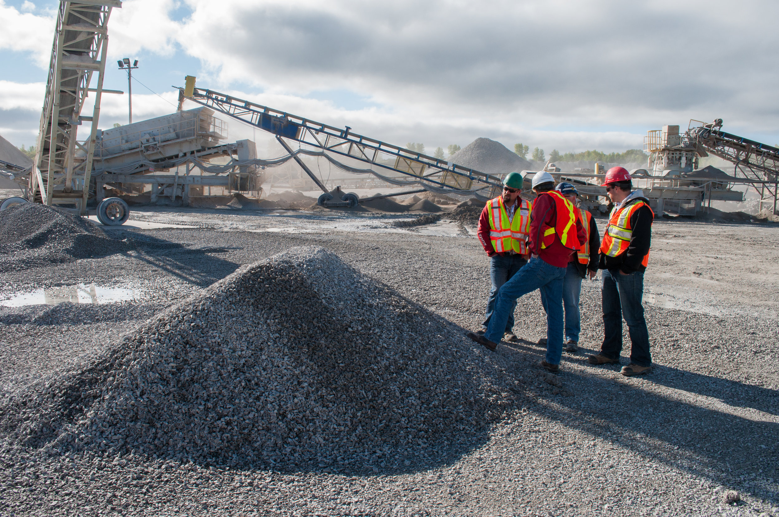 How close to source do we use the Aggregate we Extract? -