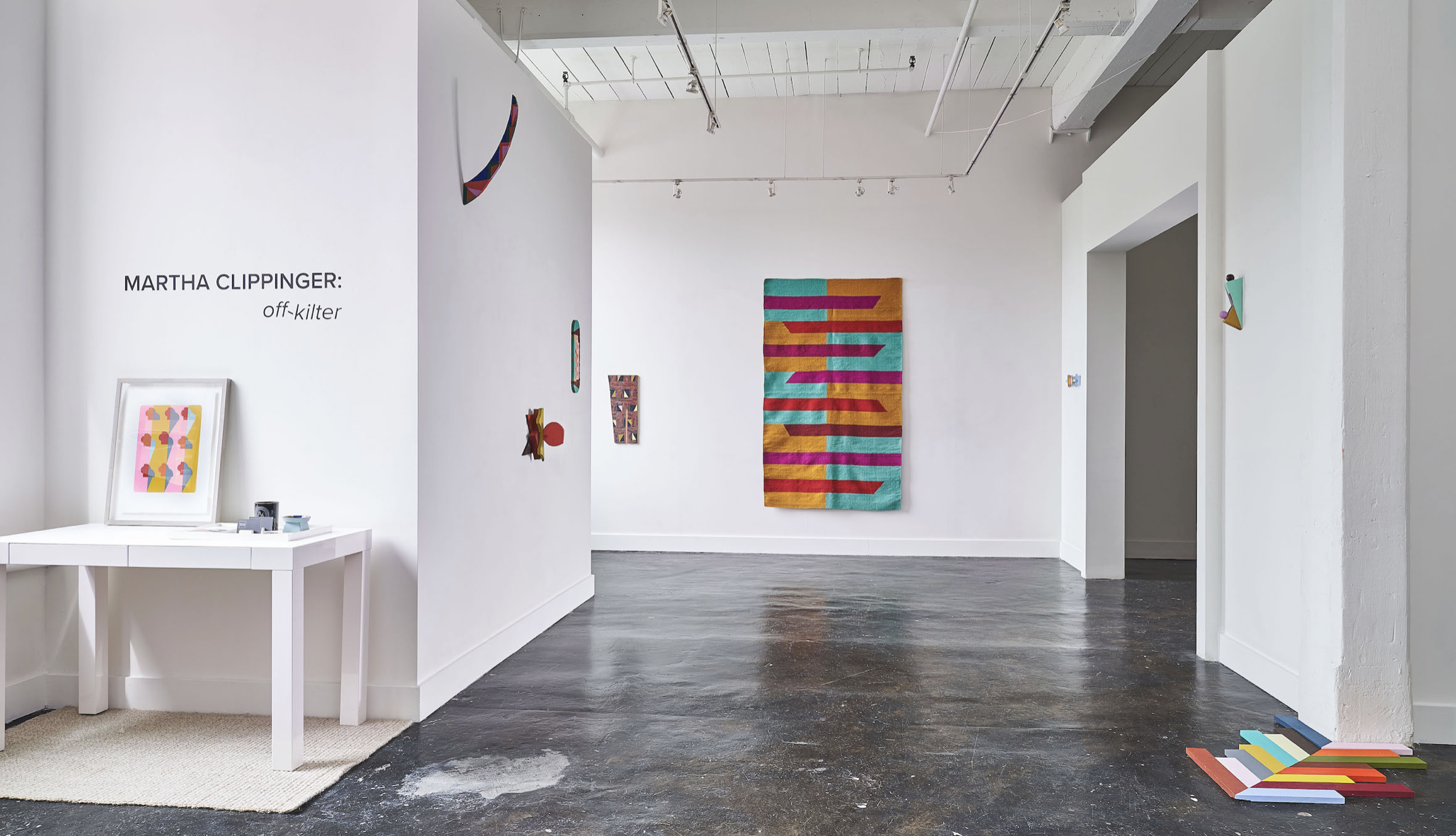 MARTHA CLIPPINGER: off-kilter  17 May - 26 July, 2019   HODGES TAYLOR art consultancy   118 E KINGSTON AVE #16 | CHARLOTTE, NC 28203