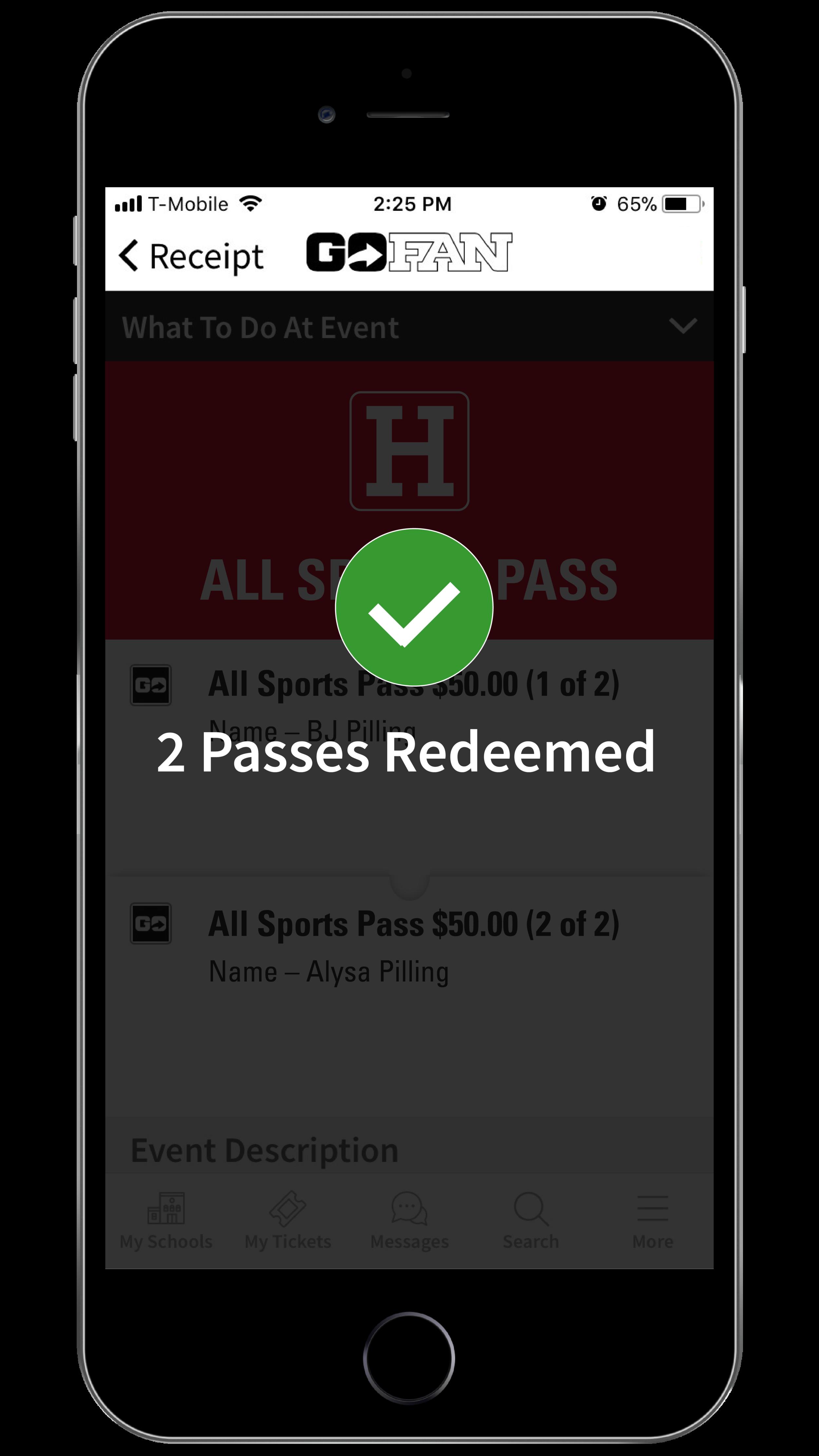 GoFan Mobile Pass_HuddleHS_MockedUp_Validate.png
