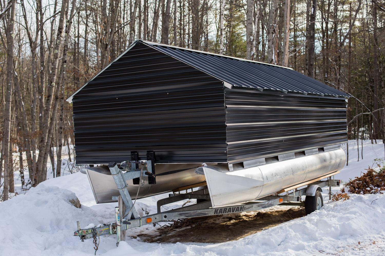 Aluminum Boat Cover