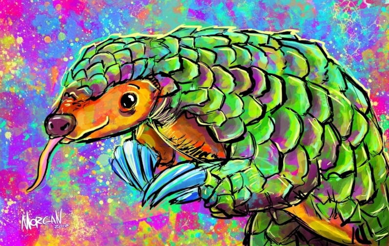 Pangolin by Morgan Richardson