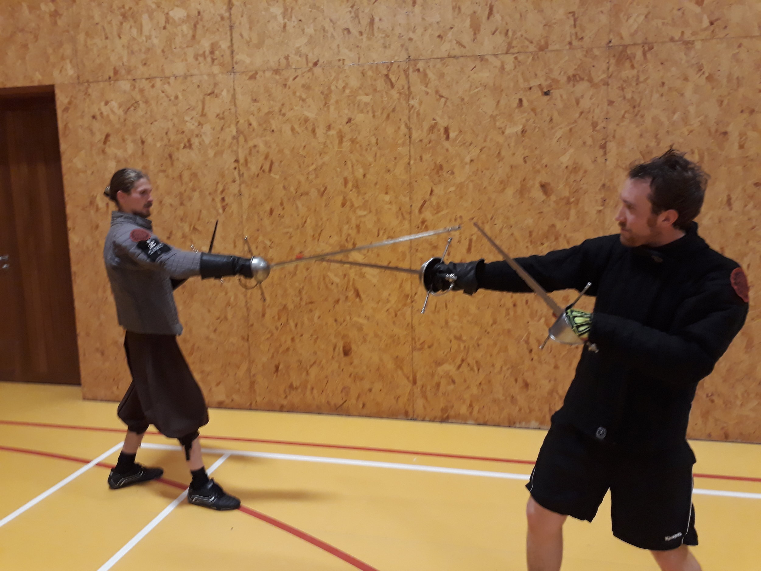 Picture C stepping to the left and controling their blade..jpg