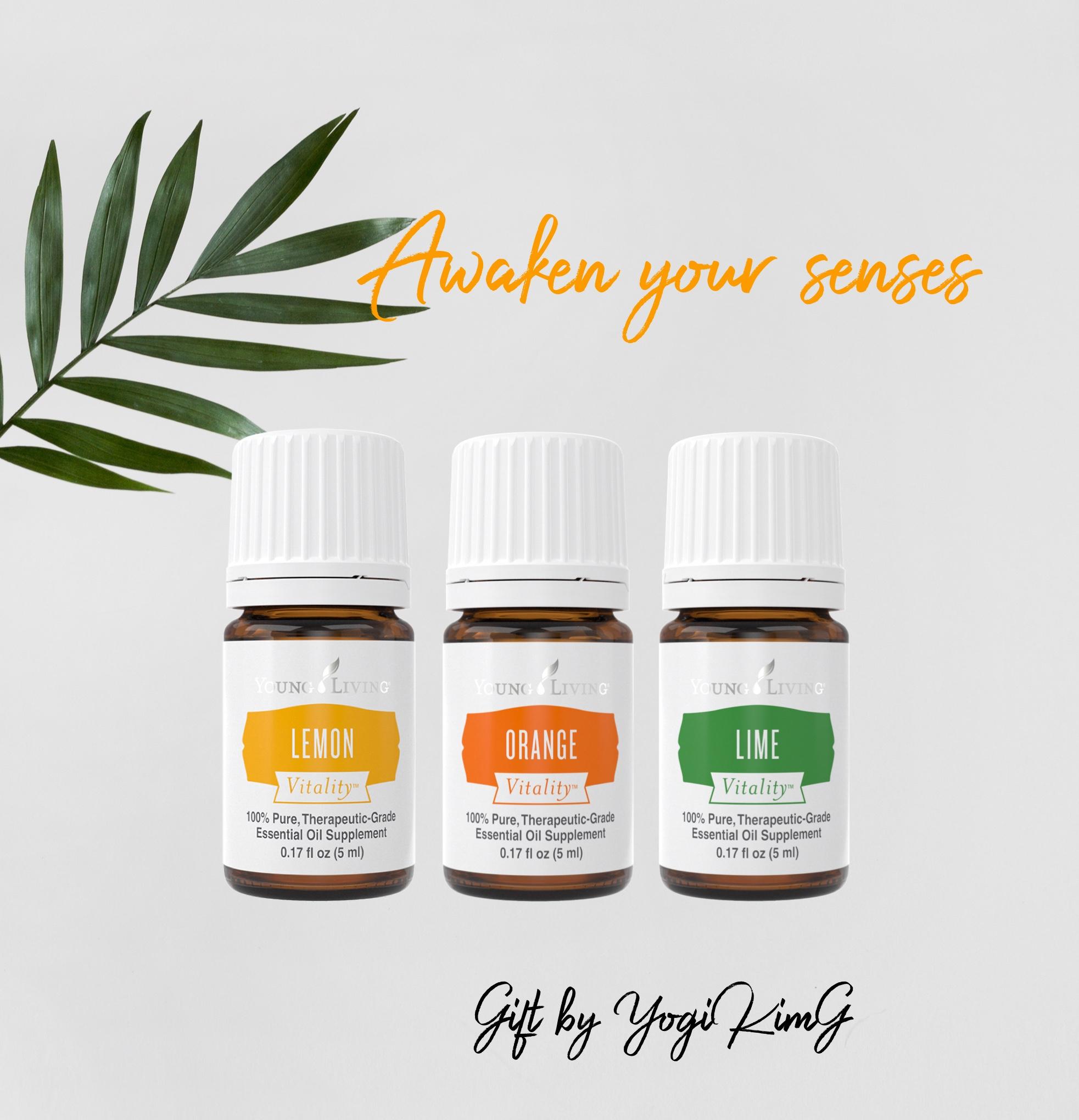 Essential Oils: Awaken Your Senses Pack
